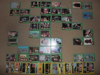 1977 star wars green series rare c3po card + more mixed trading cards lot