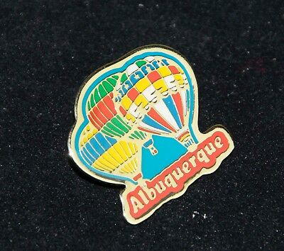 Albuquerque HOT AIR BALLOON FIESTA Enameled Stick Pin  3 colorful Balloons
