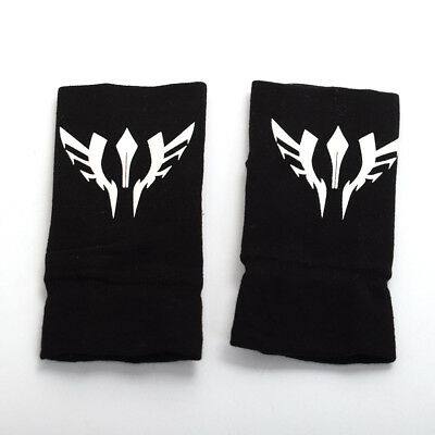 Anime Fate Stay Night Noctilucence Mitten Luminous Half Finger Gloves Cosplay