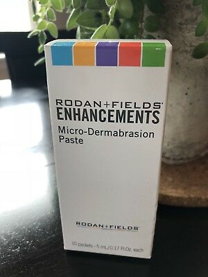 Rodan and Fields ENHANCEMENTS Micro Dermabrasion Paste 10 Packets/5 mL each