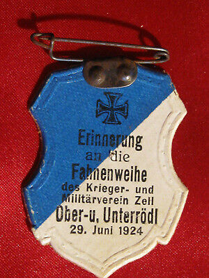 Orig. OLD GERMAN  PATRIOTIC PIN 1924