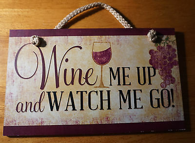 Wine Bar Cellar Kitchen Sign Grapes Rustic Primitive Style WINERY Home Decor