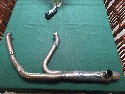 2017-18 Harley Touring cat free head pipe w/free gaskets