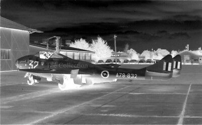 De Havilland Vampire T.35A A79-832 original 35mm photo negatives