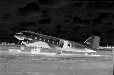 Douglas C-47A 43-15867 35mm copy photo negative