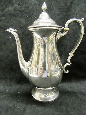"""Vintage Hunt Silver Co. Sterling Coffee Tea Pot #151 9-1/2"""" Tall Super Condition"""