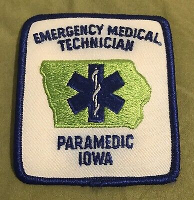 Old Iowa State Paramedic Patch