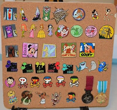 Authentic Disney Trading Pins - Lot of 10 - Scrapper Free!!