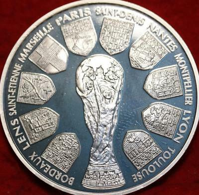 Uncirculated 1998 France 10 Francs Silver Foreign Coin