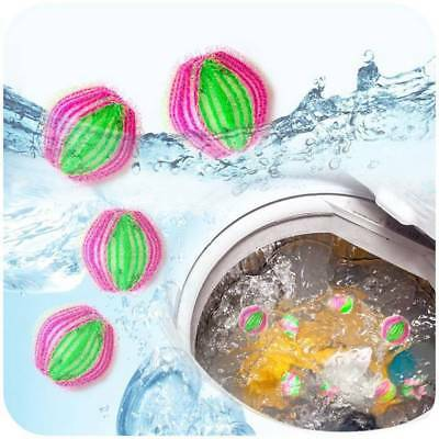 Set of 6 Magic Hair Removal Laundry Ball Washing Machine Ball Cleaning Ball