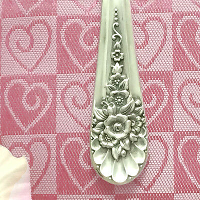 Silver Spoon JUBILEE Keychain Purse Jewelry Hook,Silverware Key Ring Finder