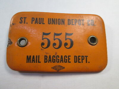 St. Paul Union Depot Mail Baggage Department Badge