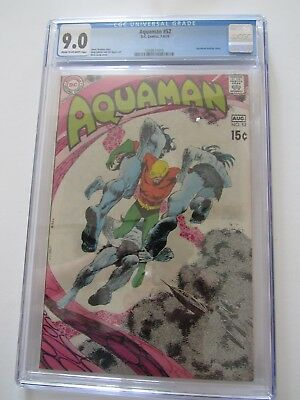 Aquaman #52 Cgc Freshly Graded 9.0  Neal Adams, Jim Aparo