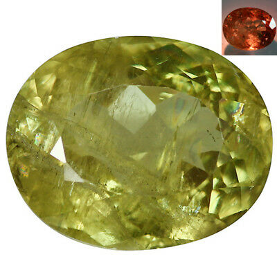 12.71Ct Pleasant Oval Cut 16 x 13 mm AAA Color Change Turkish Diaspore