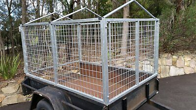 Std 6x4 Trailer Cage with Cover