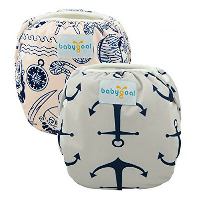BABAYGOAL Reusable Swim Diaper Breathable Adjustable With Snaps Pool Cover