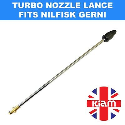Rotary Turbo Nozzle 500mm Lance for Nilfisk Gerni Pressure Washer - 2200 PSI