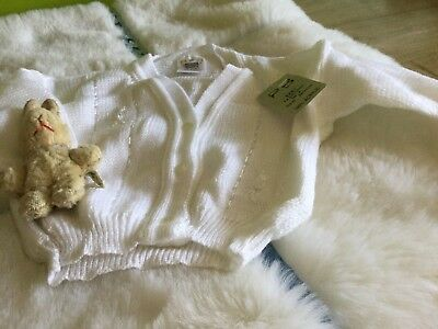 AUTHENTIC VINTAGE 1970s UNUSED BABY BOYS/GIRLS CHILDRENS CARDIGAN 6 months