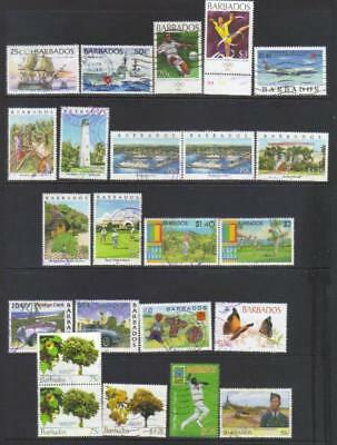 Barbados 1996-2008 Used Selection Cat £47+