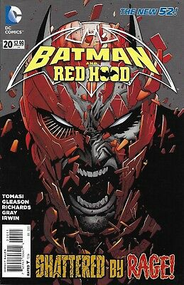 Batman And Red Hood Comic Issue 20 The New 52 Modern Age First Print Tomasi 2013