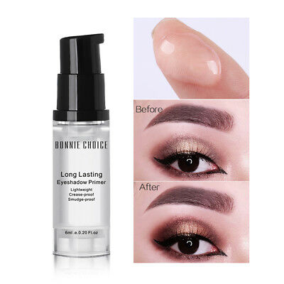 6ml Eye Shadow Primer Long-lasting Make Up Base Natural Cream Tool BONNIE CHOICE