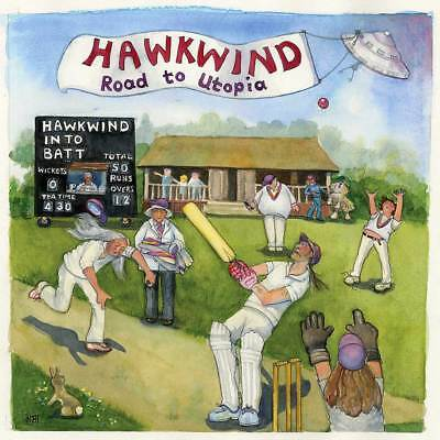 """Hawkwind - Road To Utopia (NEW 12"""" VINYL LP) (Preorder Out 14th September)"""