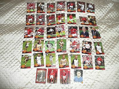 ( LOT 29 ) 39 different cards trading cards of MANCHESTER UTD.. 1999