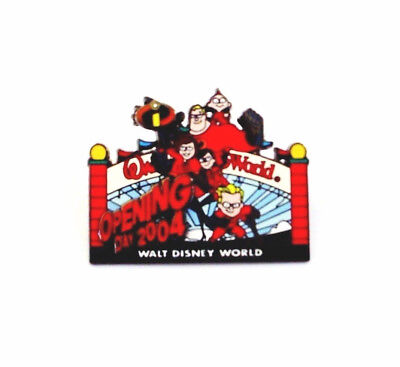 The Incredibles Family Walt Disney World Opening Day 2004 LE Pin