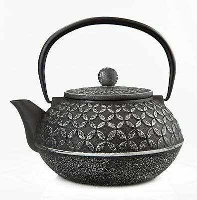 27 Oz Cast Iron Teapot/Japanese Tetsubin Teakettle with Stainless Steel Infus...