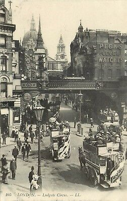 Angleterre London Ludgate Circus Ll