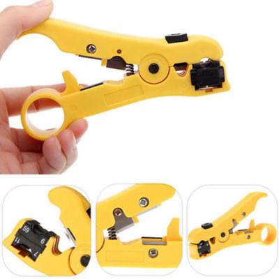 Rotary Coax Coaxial Cable Wire Cutter Stripping RG59 RG6 RG7 RG11 Stripper ov