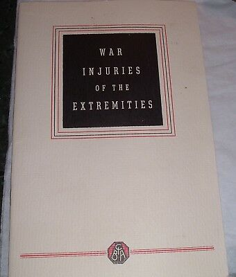 1945 WW2 ciba pharmaceutical war injuries of the extremities Soldier Amputations