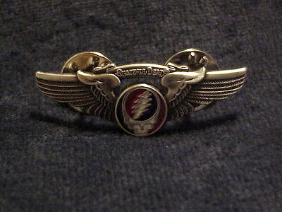Grateful Dead Steal Your Face Wings Pin