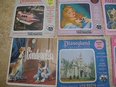 COLLECTION OF 56 VINTAGE VIEW MASTER SLIDES, DISNEY, MIGHTY MOUSE, SEE descript.