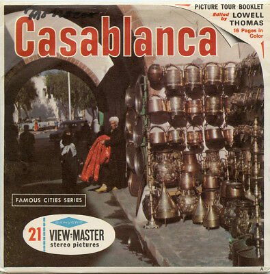 Casablanca  - Classic ViewMaster - 3 Reel Packet -B101-S6A