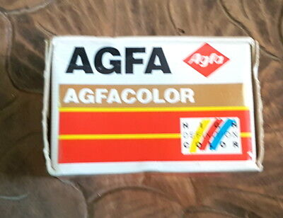 New & Sealed Agfacolor Xrg 200 135 Colour Film (24+3) Date Expired (Exp 11/95)