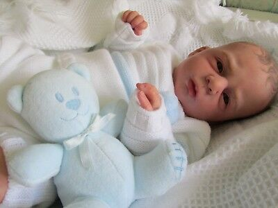 reborn baby boy from angel kit Olga Auer