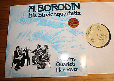 BORODIN String Quartets JOACHIM QUARTET - SIGNED LP THOROFON DMM