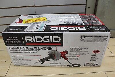 """NEW Ridgid 115-V K-45AF Drain Cleaner W/C-1 5/16"""" Inner Core Cable 35473"""