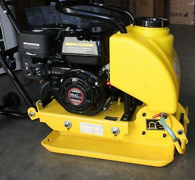 Walk Behind 196Cc C88 Dirt Plate Vibratory Compactor Rammer 6.5 Hp Gas Power