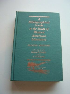 A Bibliographical Guide to the Study of Western American Literature 2nd Edition