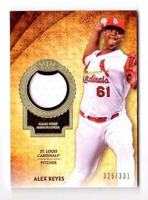 Alex Reyes Mlb 2017 Topps Tier One Relics #/331 (St. Louis Cardinals)