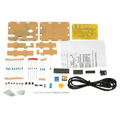 High Quality 1Hz-50MHz Frequency Tester Counter Meter Transparent Diy Kits M0P5