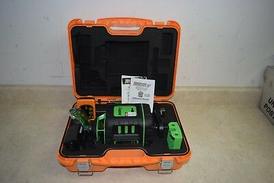 Johnson 40-6543 Self-Leveling Rotary Laser Level w/ GreenBrite Technology - NEW