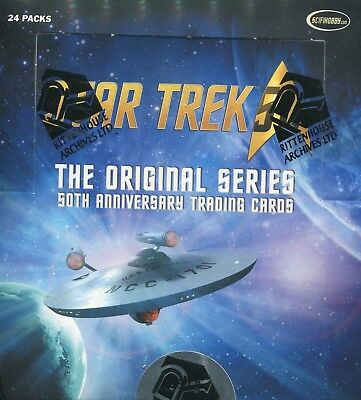 STAR TREK ORIGINAL SERIES 50th ANNIVERSARY 2016 SEALED BOX