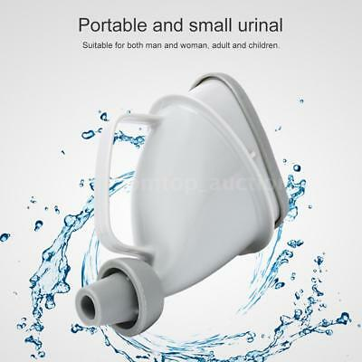 Portable Urinal Outdoor Camp Urination Device Stand Up & Pee Toilet Travel H2J9