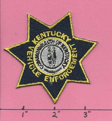 Kentucky KY State Police Commercial Vehicle Law Enforcement Hat Cap Patch - KVE