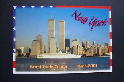 307) New York City ~ Cruise Ship ~ The World Trade Center Twin Towers 1973-2001