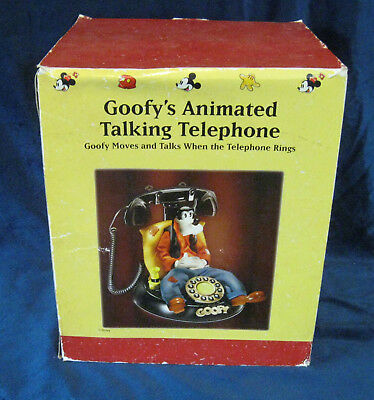 TELEMANIA Goofy Talking and Animated Phone New in Box