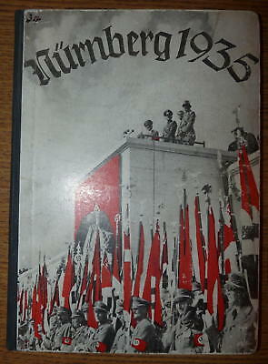 RARE - Original Reichstagung (NSDAP Party Days) Photo Yearbook - Nurnberg 1935